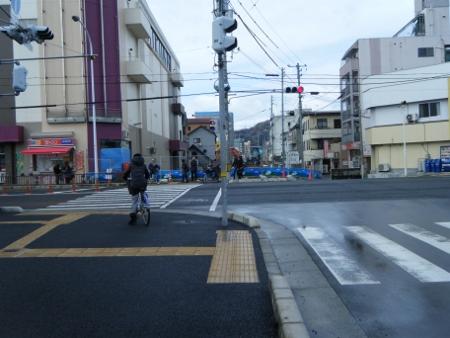 イオン広店横の道.1