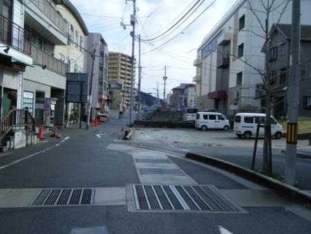 イオン広店横の道.4
