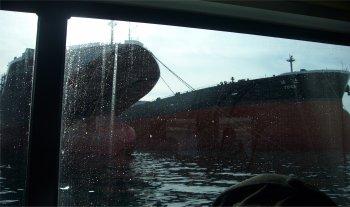 呉ヘリテージ、IHIで建造中のタンカー
