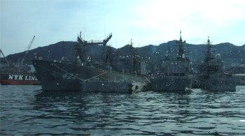 呉ヘリテージ、自衛隊の艦艇