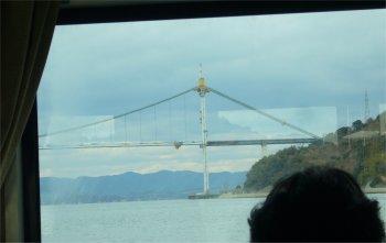 呉ヘリテージ、工事中の豊島大橋