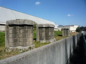 広工廠の門柱