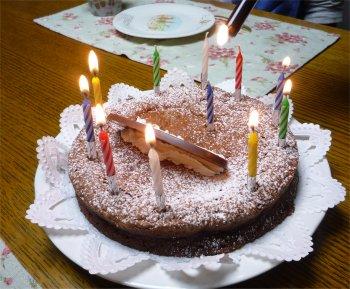 こなき製チョコレートケーキ