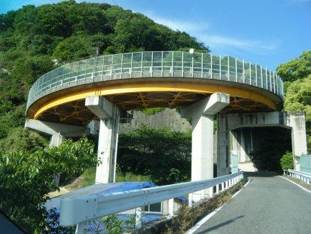 大崎下島・久比のループ橋