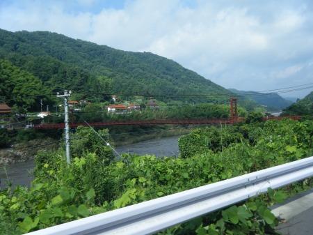 100キロ付くにある唐香橋