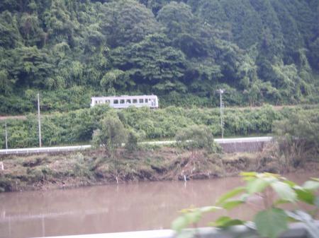 レアな三江線の列車