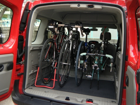自転車の プリウス 荷台 自転車 : ルノー・カングー | こなきの ...