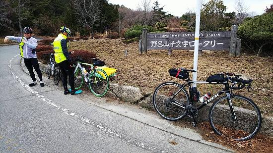 野呂山にて Photo by KAWAさん