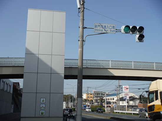 歩道橋エレベータ