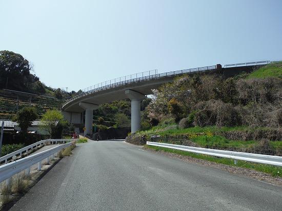 ループ橋まで