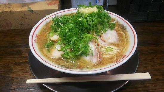 山創のチャーシュー麺(大盛り)