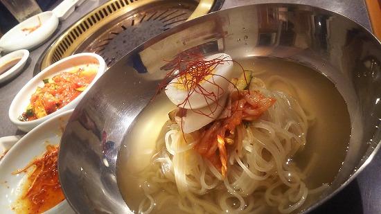モランボンの冷麺
