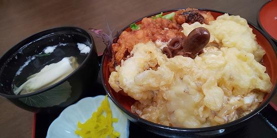 タコ三昧丼(?)