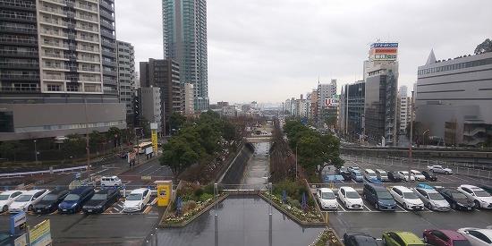 新神戸駅からの眺め