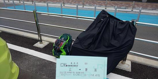 広島駅・北口にて