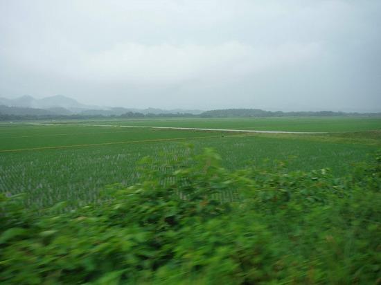 雨の新潟、コレはコレで良い景色