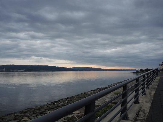 ラスト宍道湖沿い