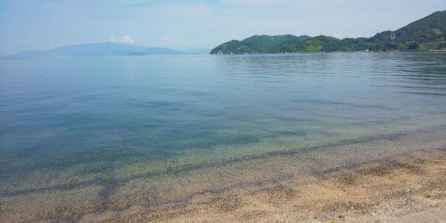 岡村島の海岸