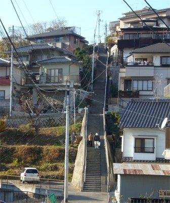 ヘリテージ・長い階段