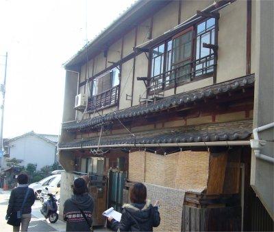 ヘリテージ・南辰川町の古い民家